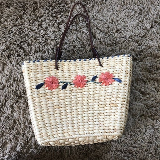 Straw Bag By Crazy Horse