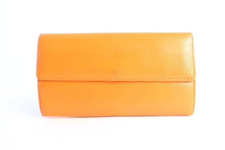 Louis Vuitton Sarah Bifold Wallet Orange