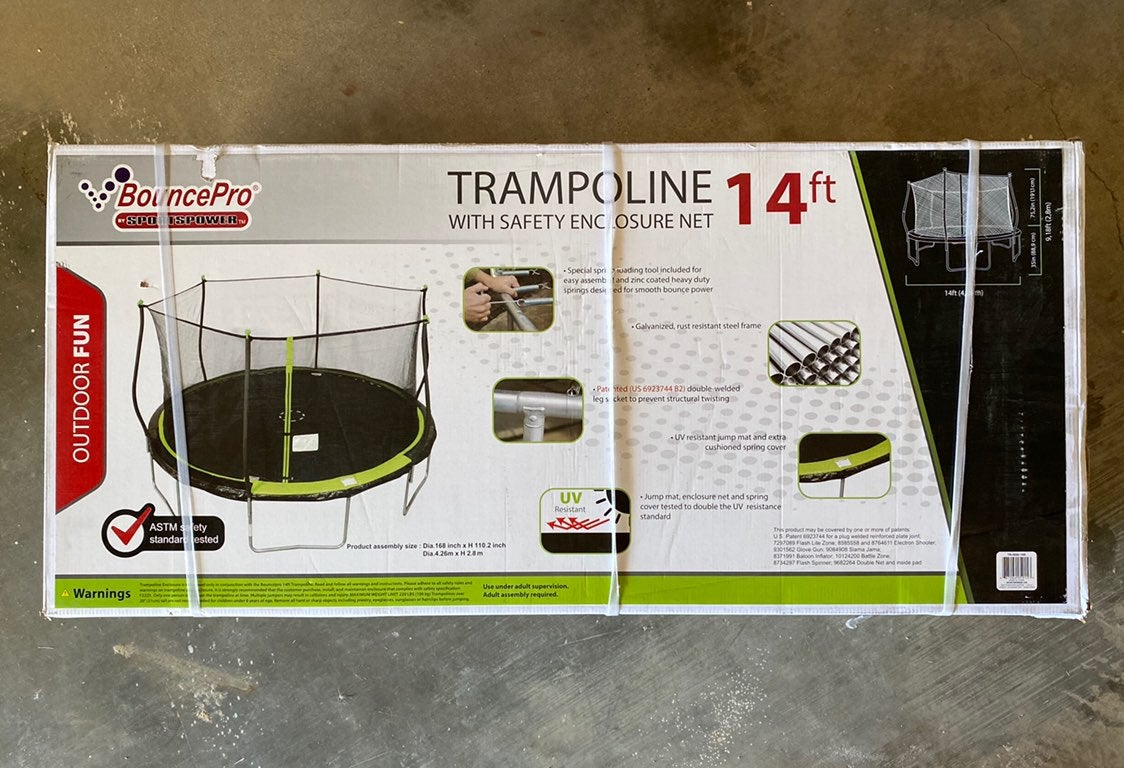 Bouncepro 14 ft trampoline