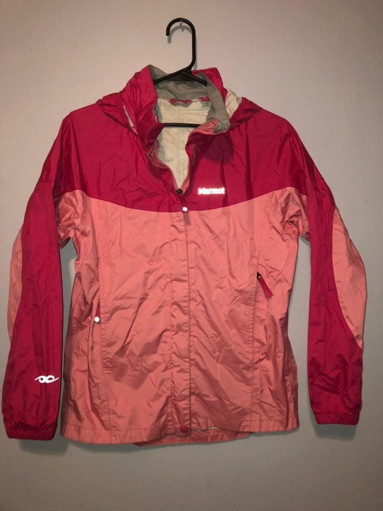 Marmot Girls Light Jacket Raincoat Xl