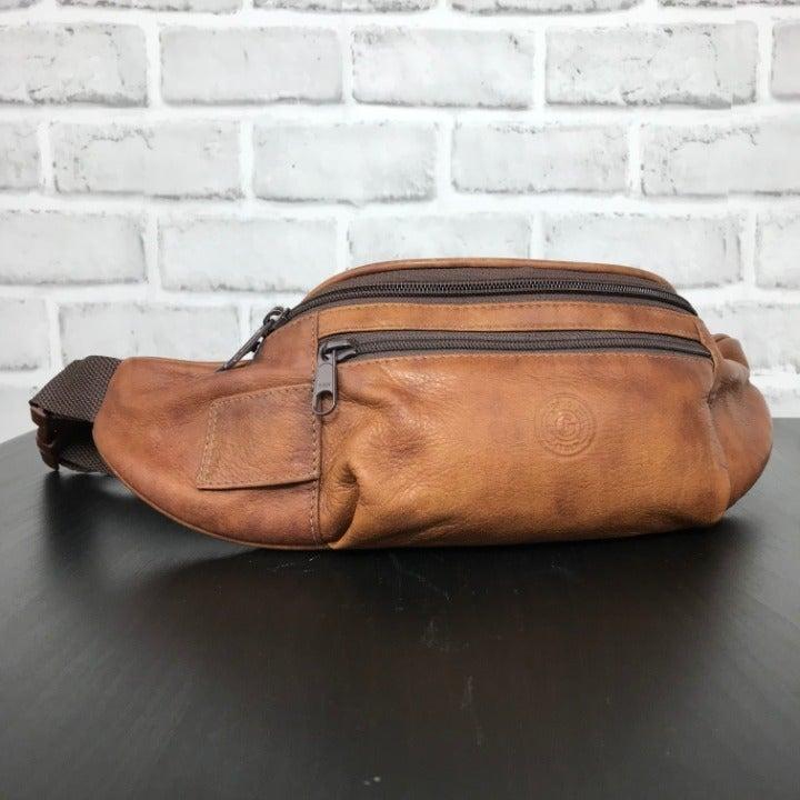 Giudi Italian leather vintage fanny pack