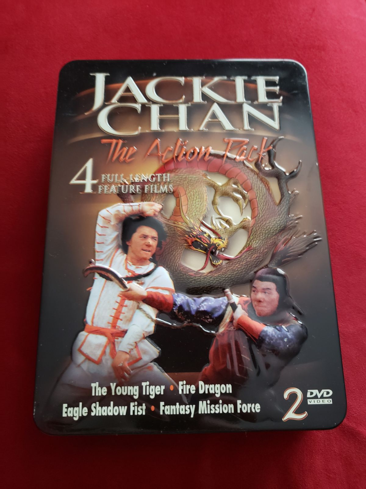 Jackie Chan: The Action Pack 4 movies