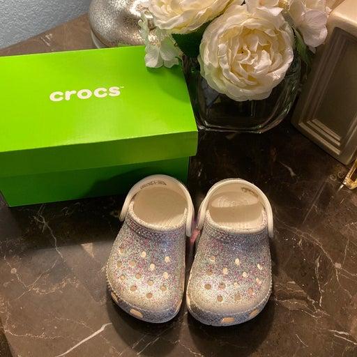 Baby girl crocs