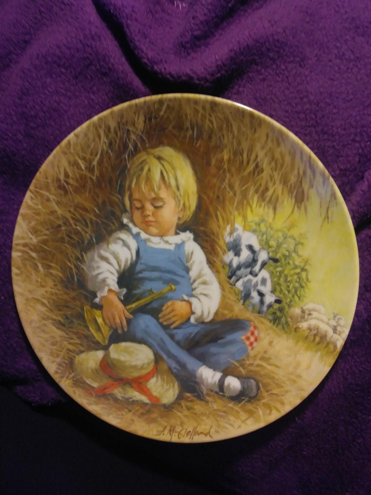 little boy blue collector plate john mcc