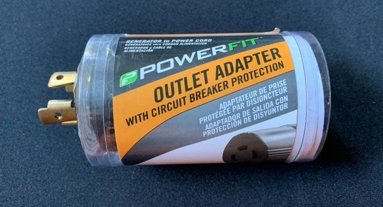 PowerFit 30A/240V to 20A/240V Adapter