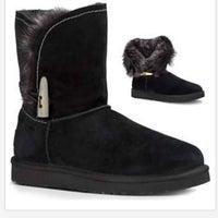 5663deb2a4f Ugg Meadow Black Suede Boots 11