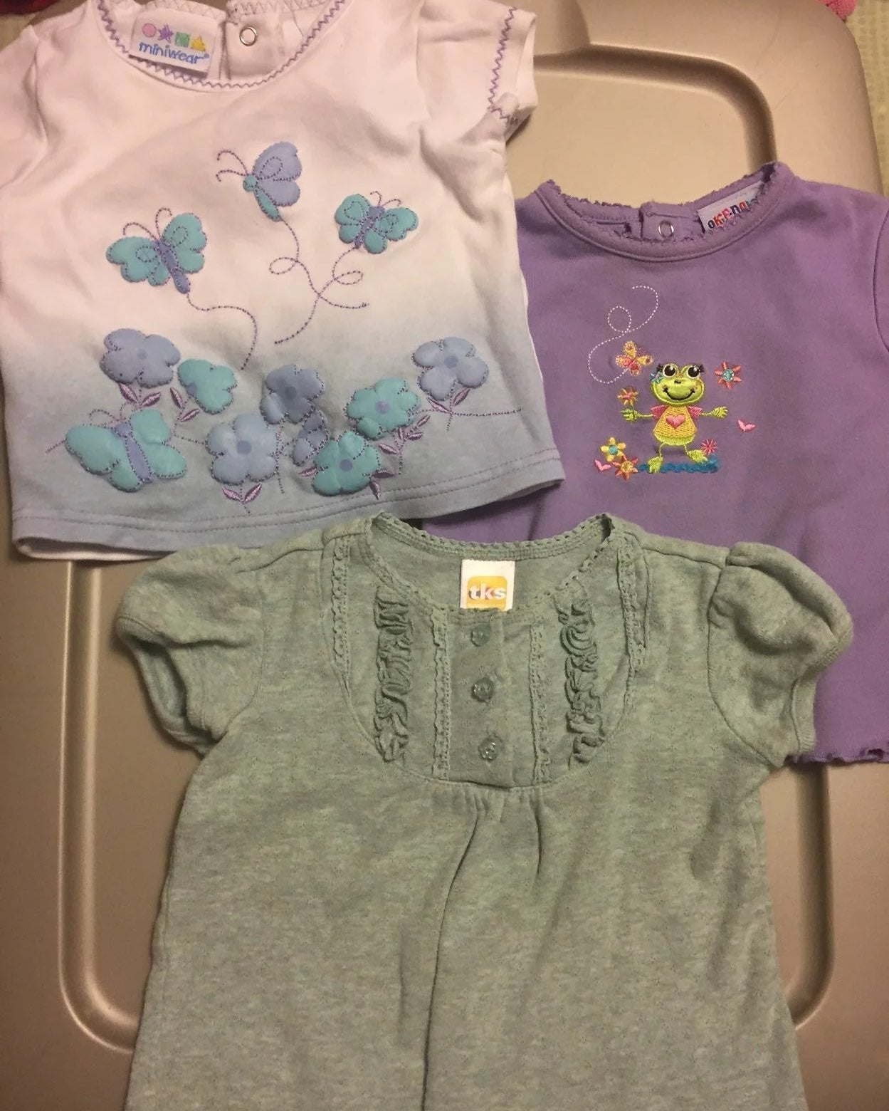 Girls 18 months summer tops