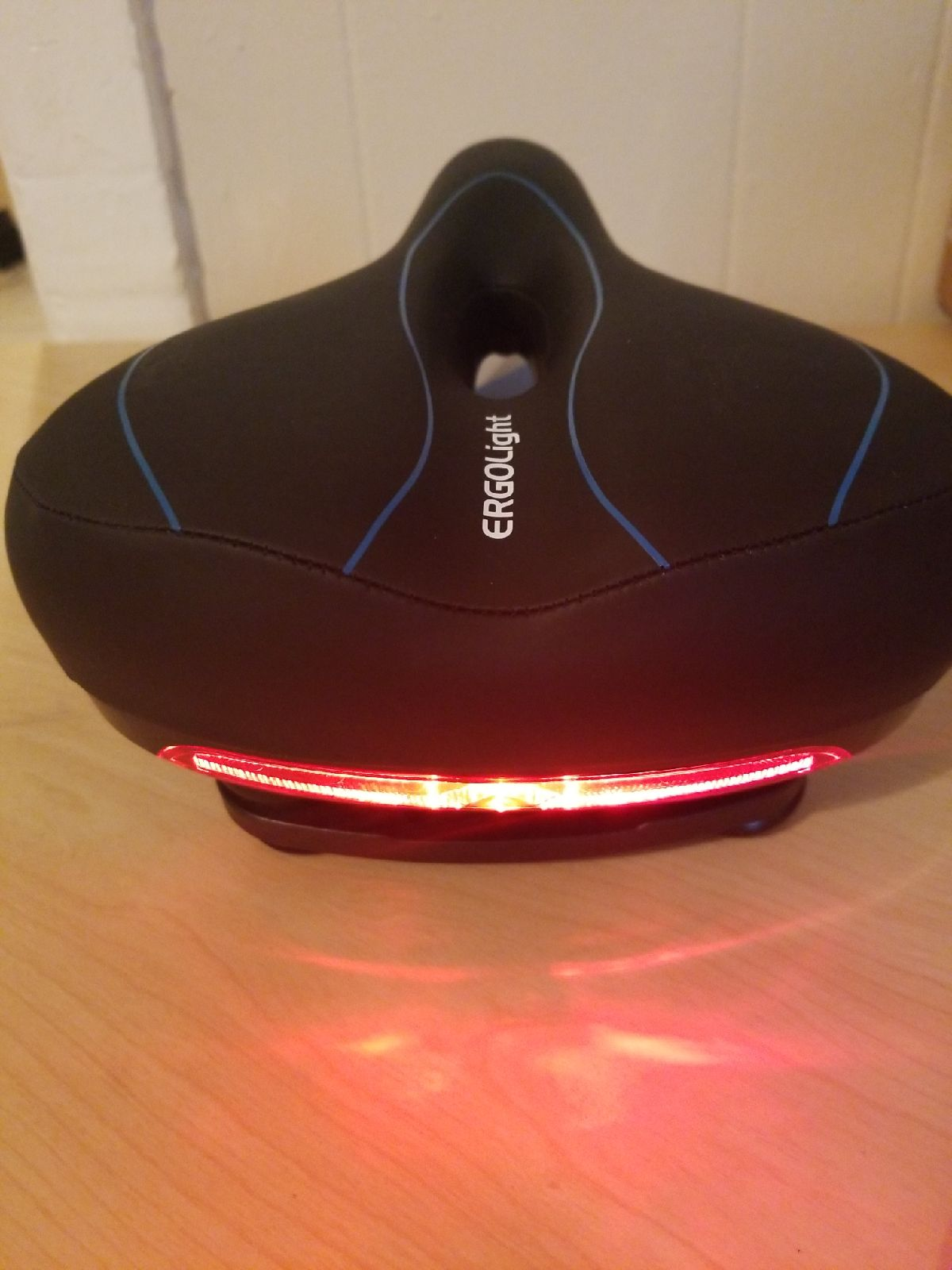 Bike Seat with Taillight