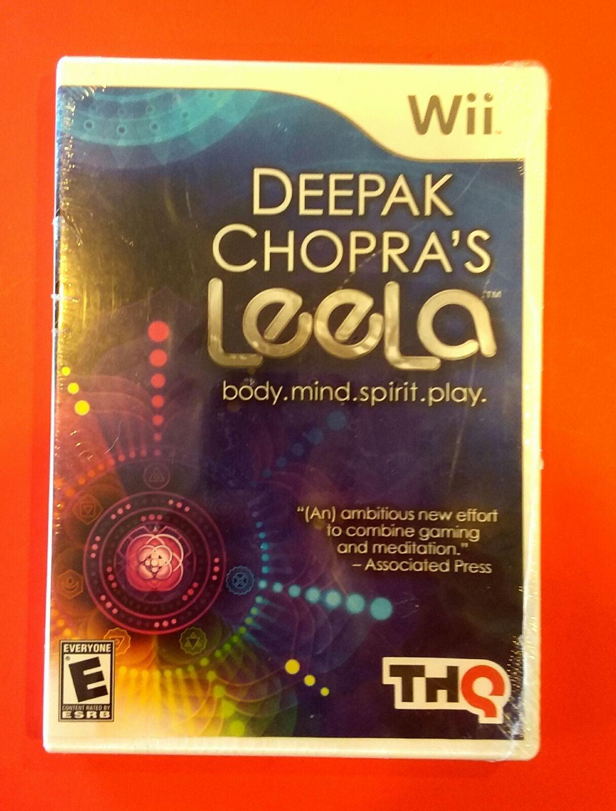 *New Wii Deepak Chopra's Leela