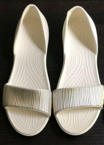 Crocs Sandals Lina D Open Toe Slide SZ 9