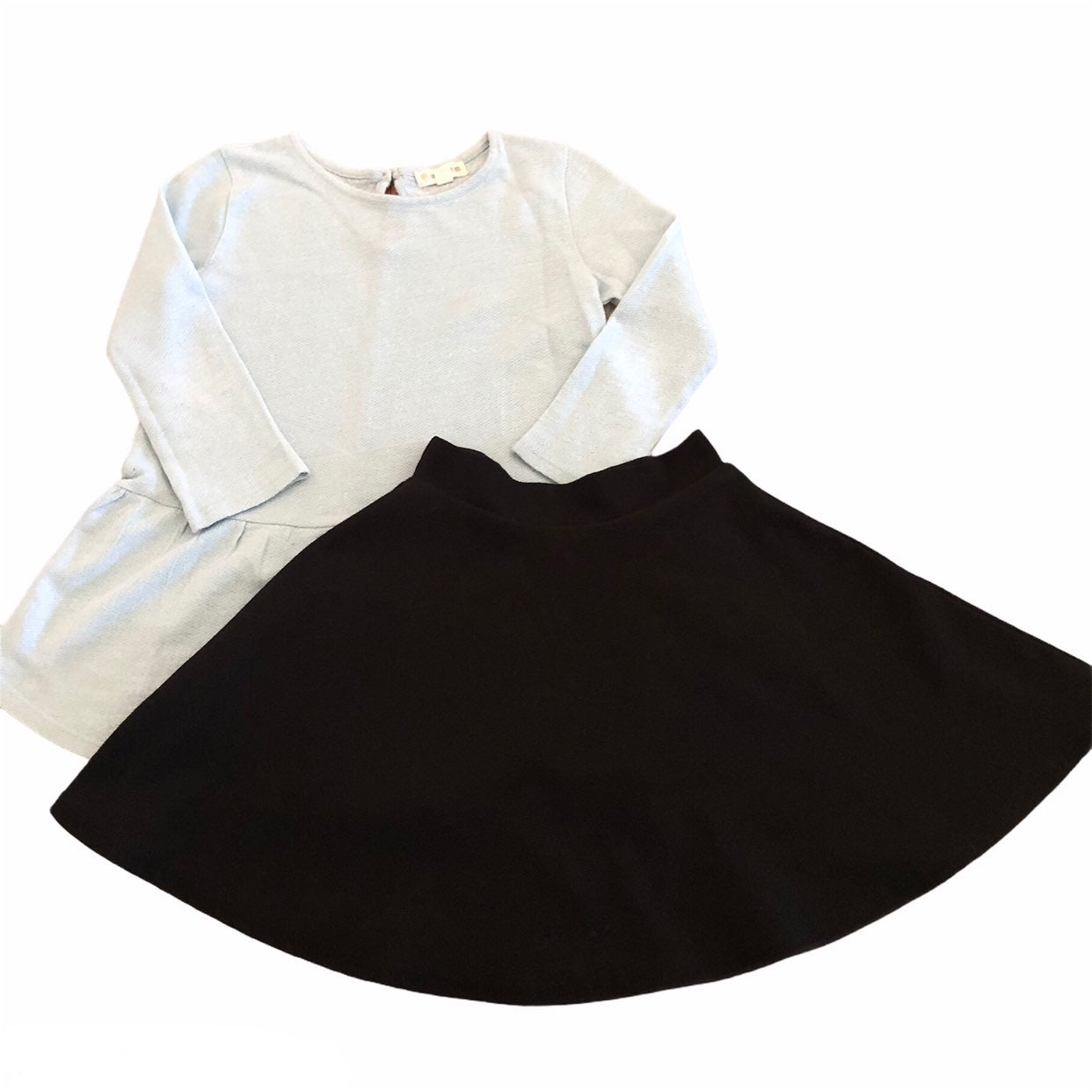 Girls 7 Tucker Tate Shirt Skirt Outfit