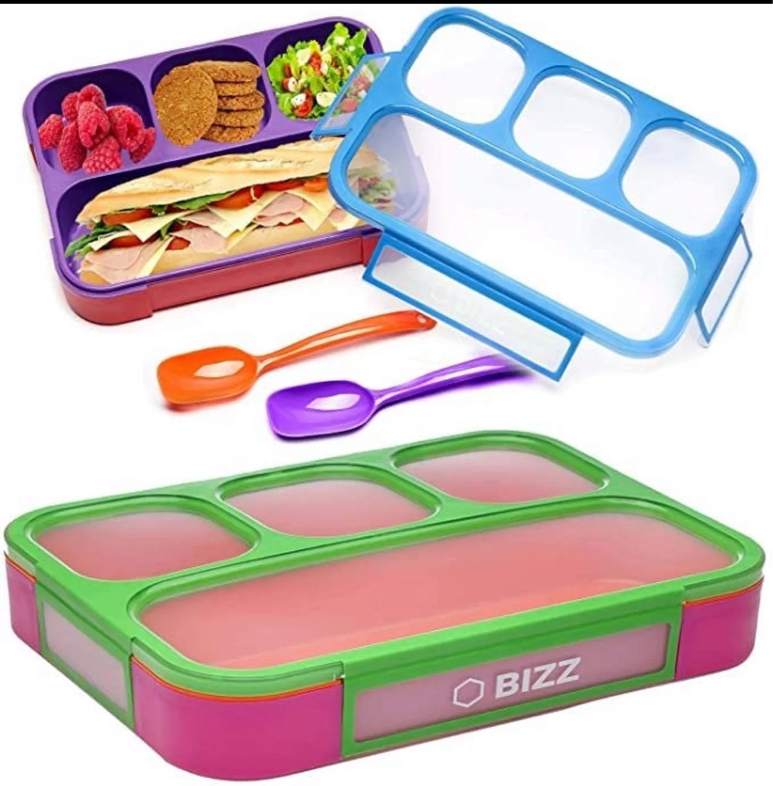 Lunch Box Containers Set (2-Pack)