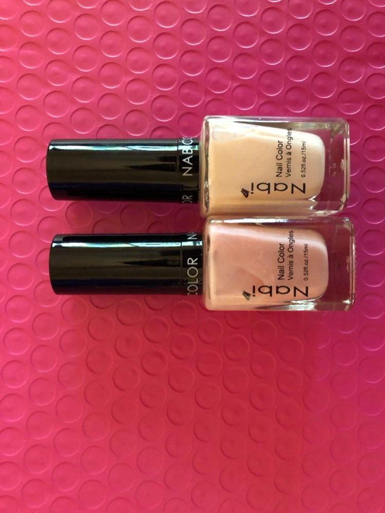 2 Nail polish beautiful colors