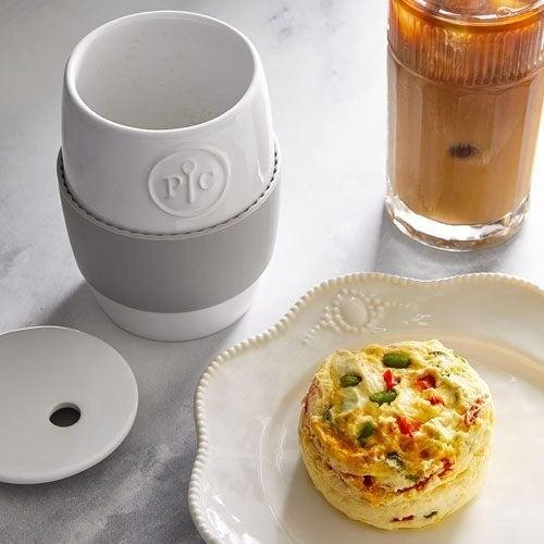 Pampered Chef Ceramic Egg Cooker