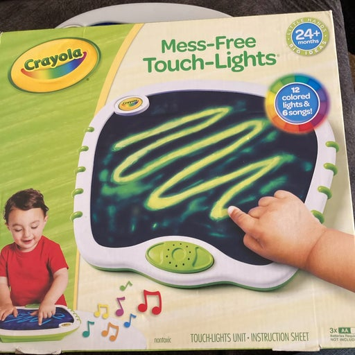 Crayola Mess-Free Touch-Lights