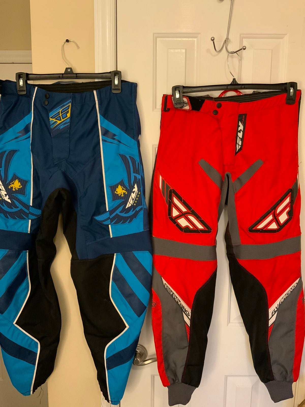 2 pairs of fly kinetic Racing Pants