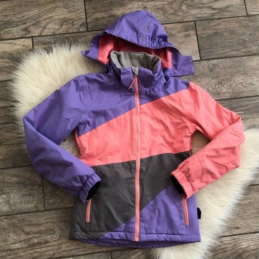 Crane Snow Extreme Pink Winter Coat