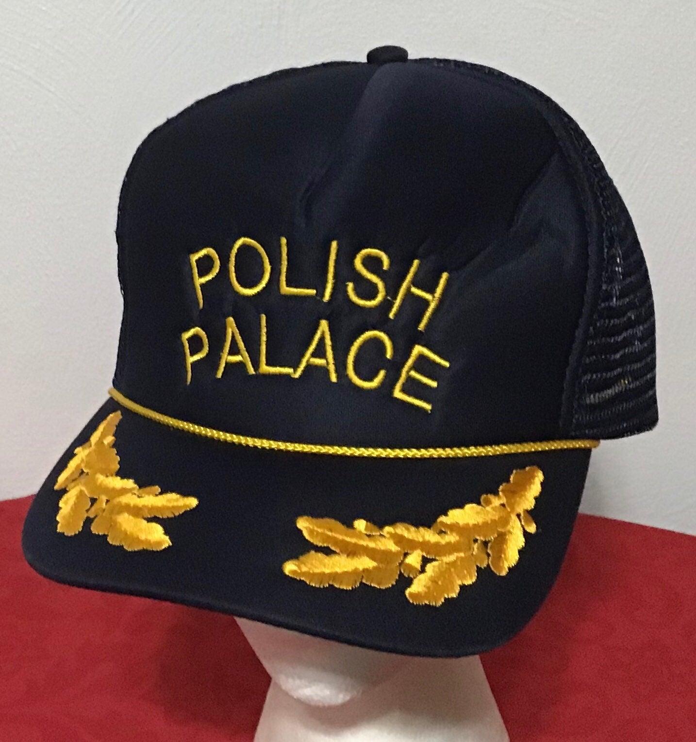 Polish Palace Blue Hat Snapback Cap Foam