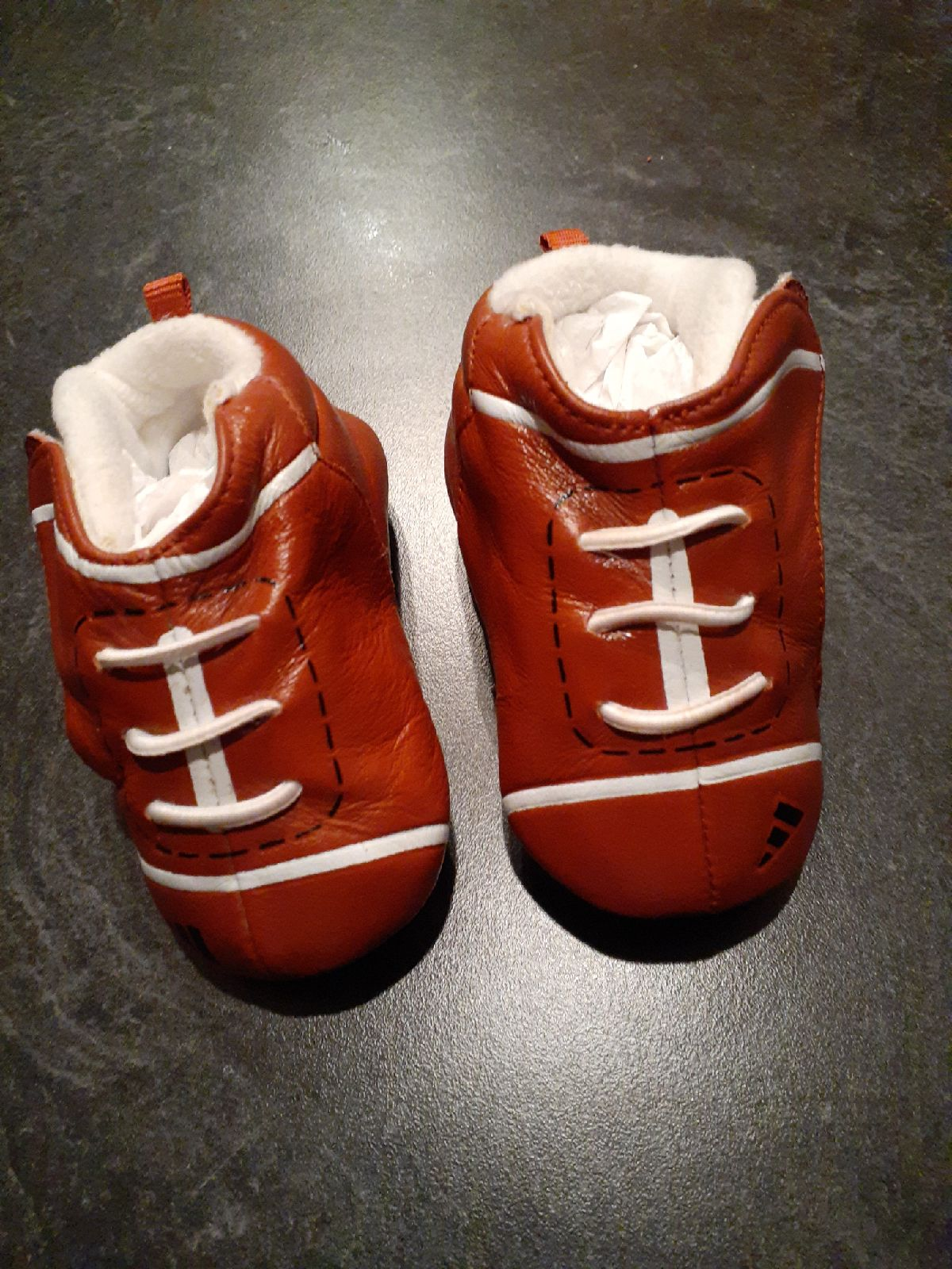 297. Baby football shoes