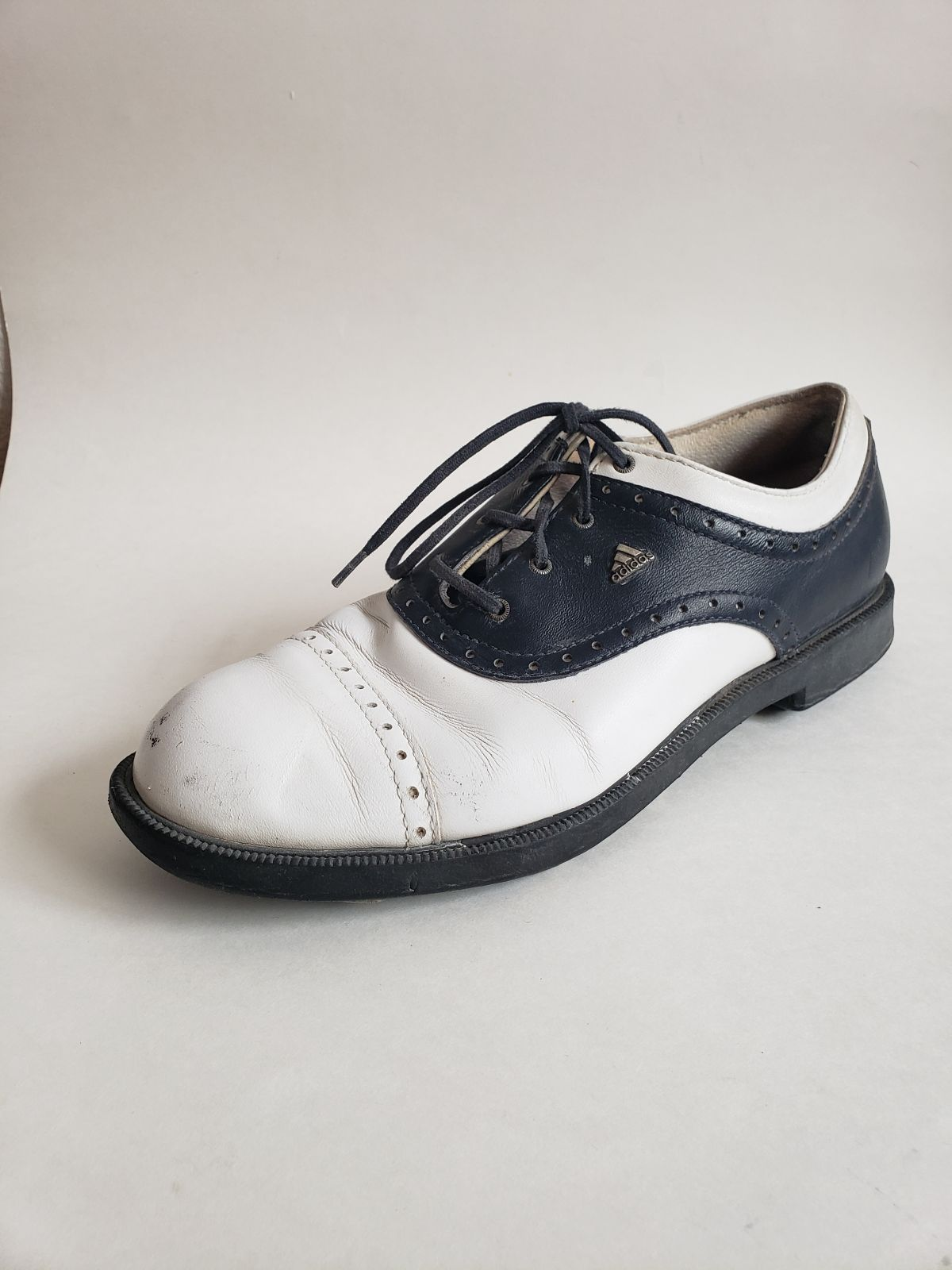 Adidas fitfoam golf leather shoes