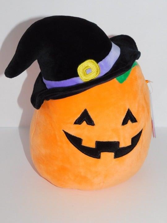 "Squishmallow Paige 8"" Pumpkin Witch"