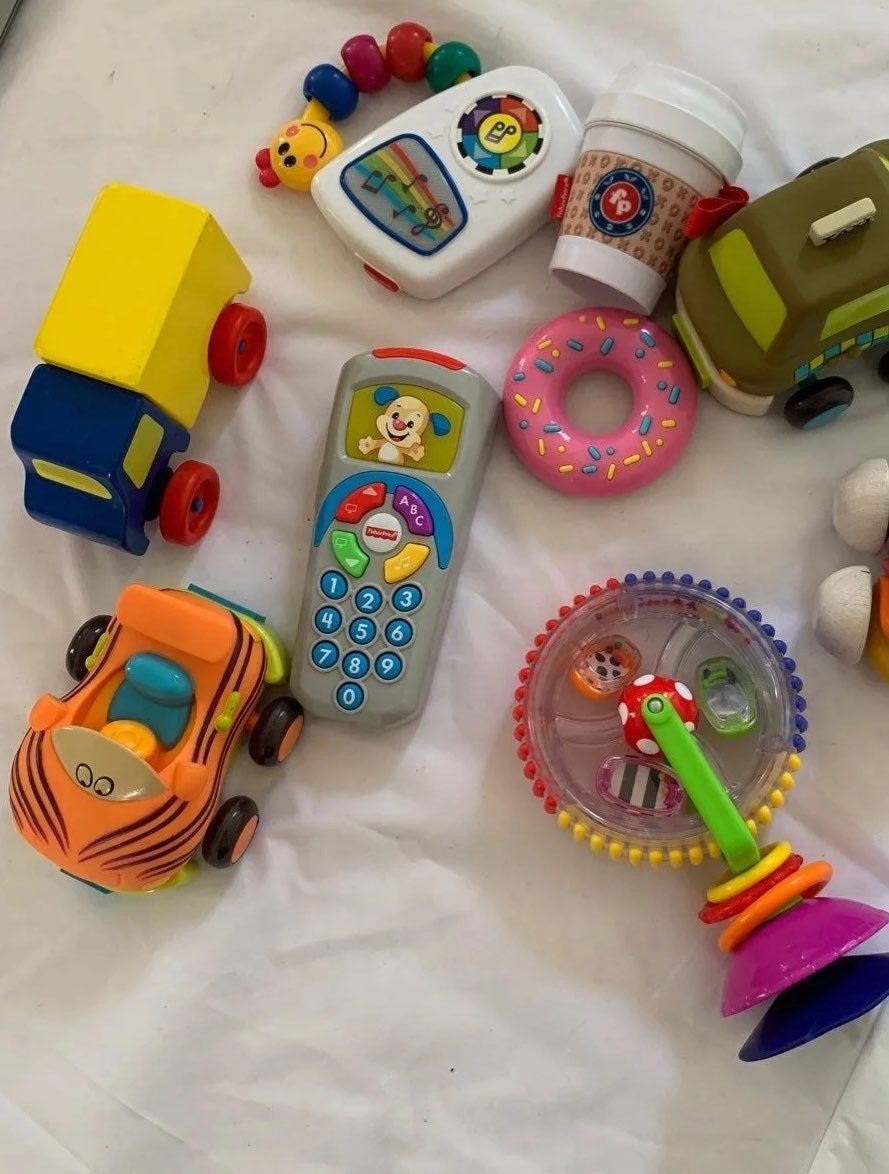 Lot of toddler toys