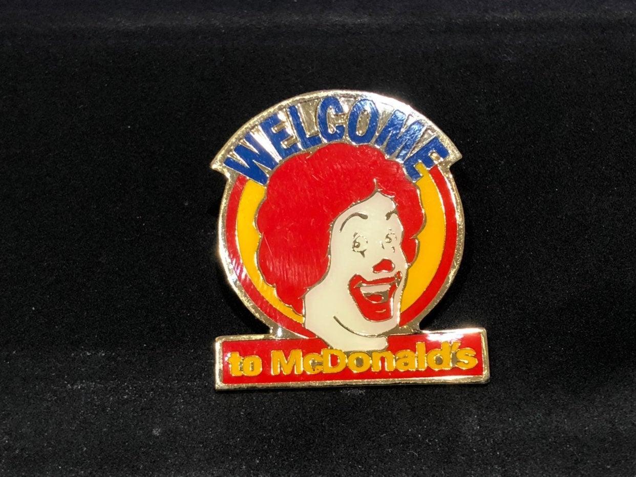 McDonald Hat / Lapel Pin  - Ronald