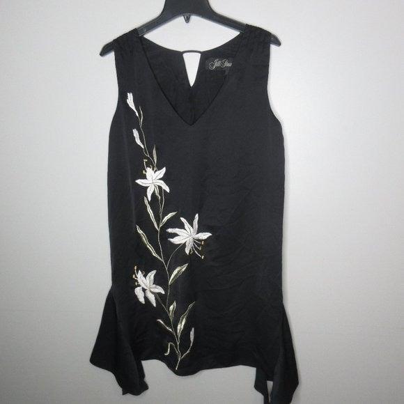 Jill Stuart Cocktail embroidered dress