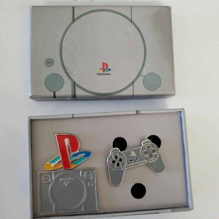 """RARE Sony PlayStation """"NUMSKULL"""" Enamel"""