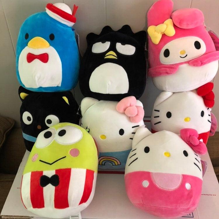 Squishmallows Hello Kitty Complete Set