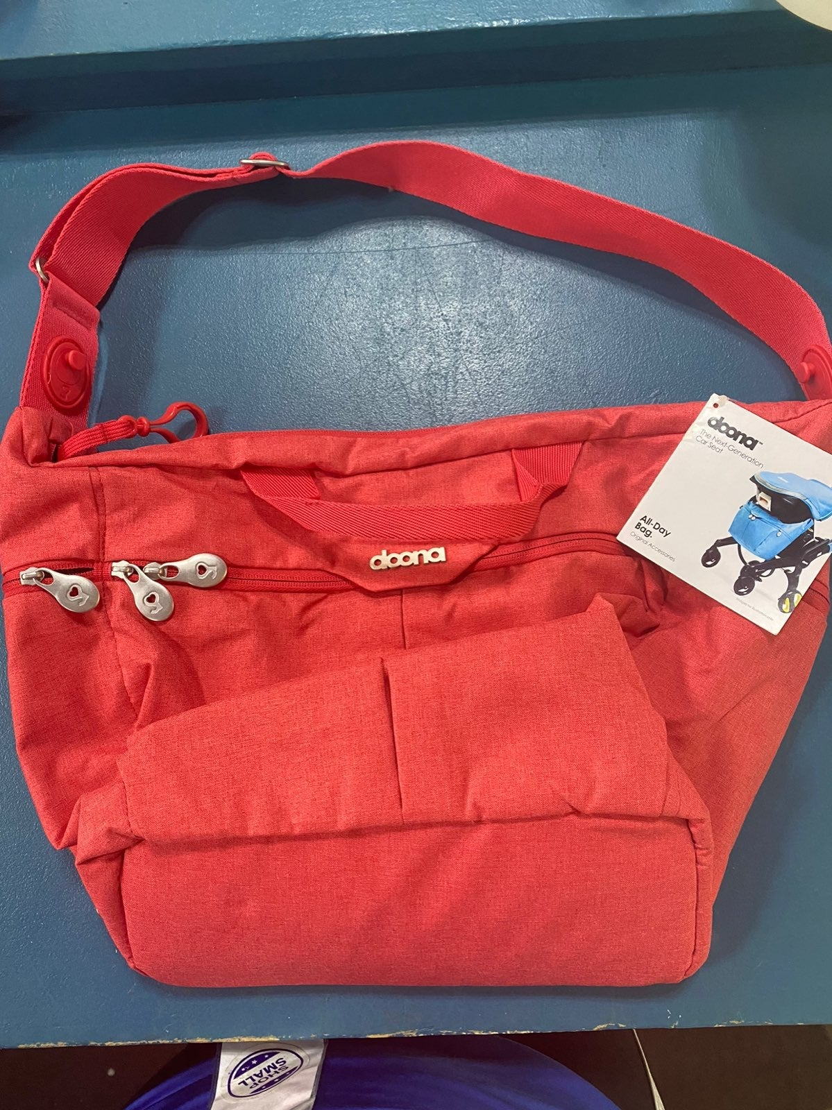 Love/Red Doona All Day Bag