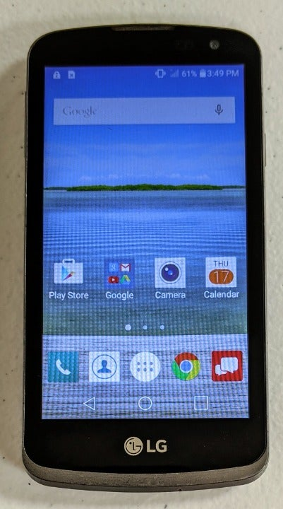 LG Optimus Zone 3 Verizon 8GB Black