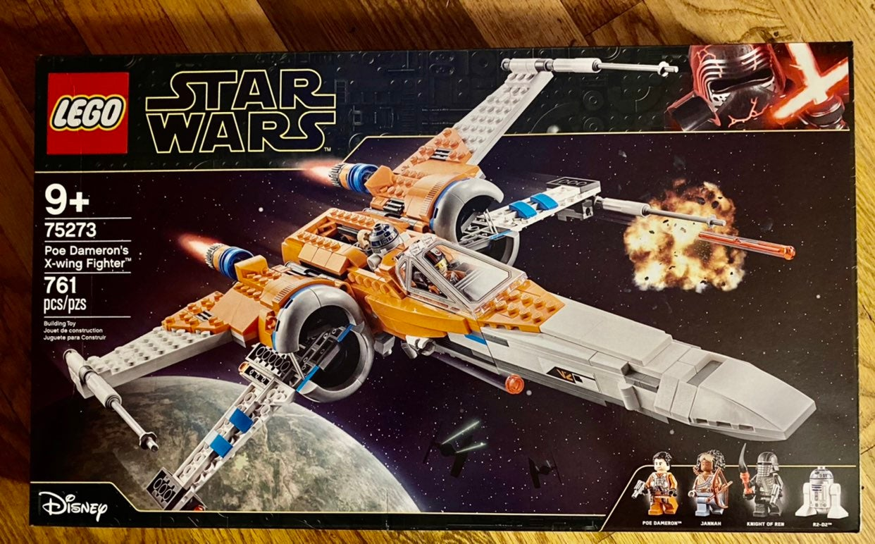Lego Star Wars Poe X Wing