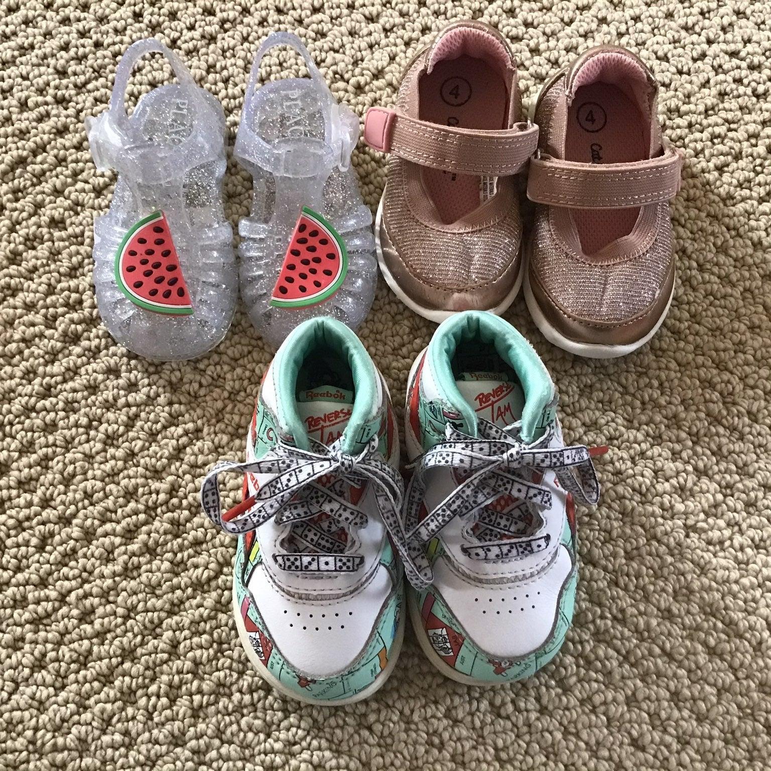 Toddler's Bundle Shoes Size 4