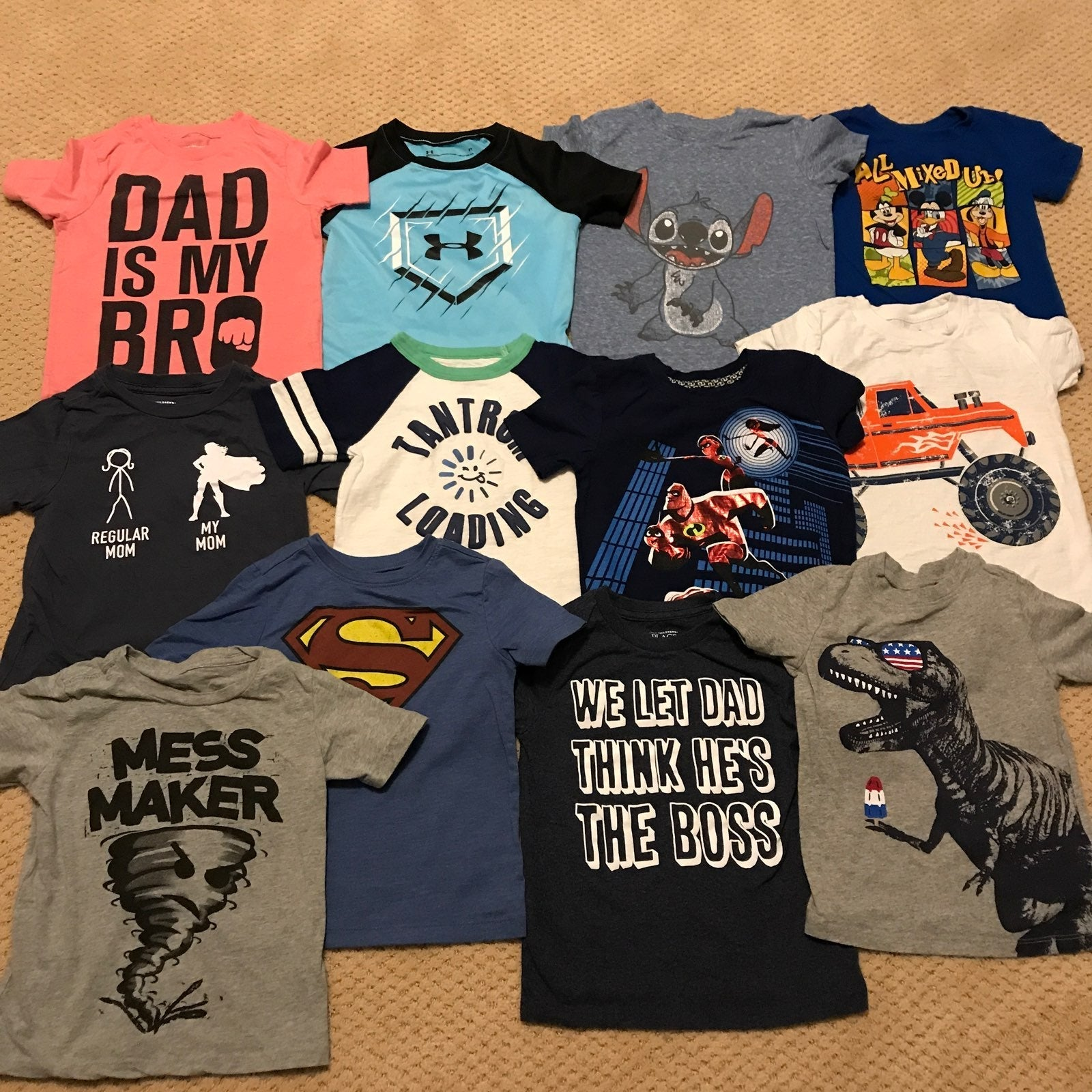 12 Toddler T-Shirts