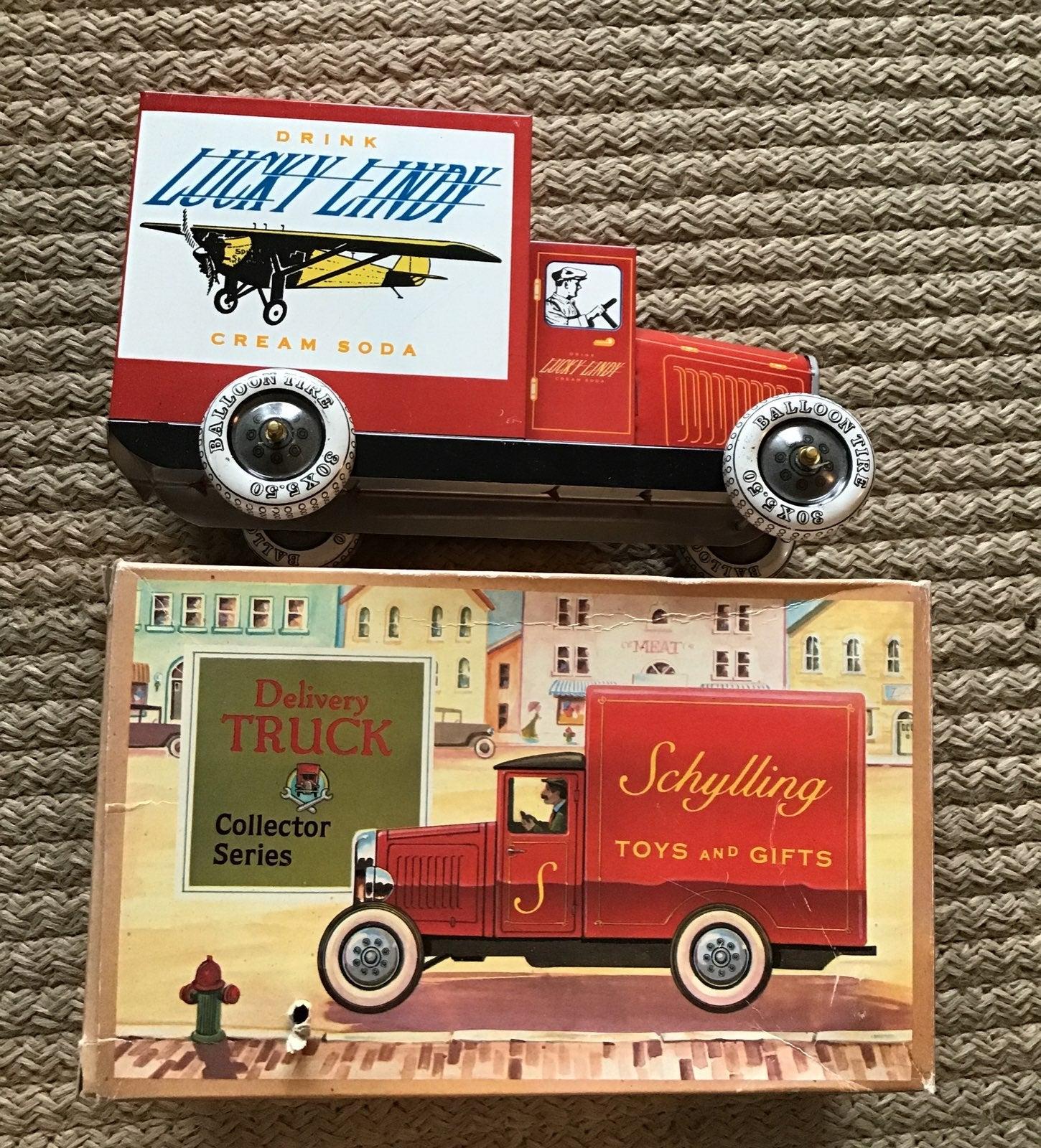 """Lucky Lindy"" Tin Truck"