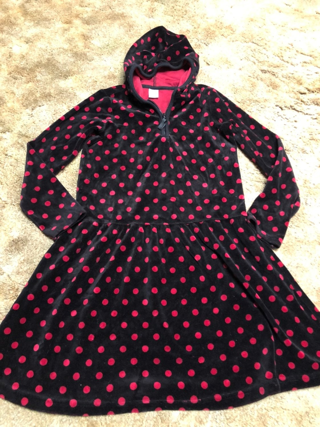 Gymboree Holiday Panda Dress 10 Velour