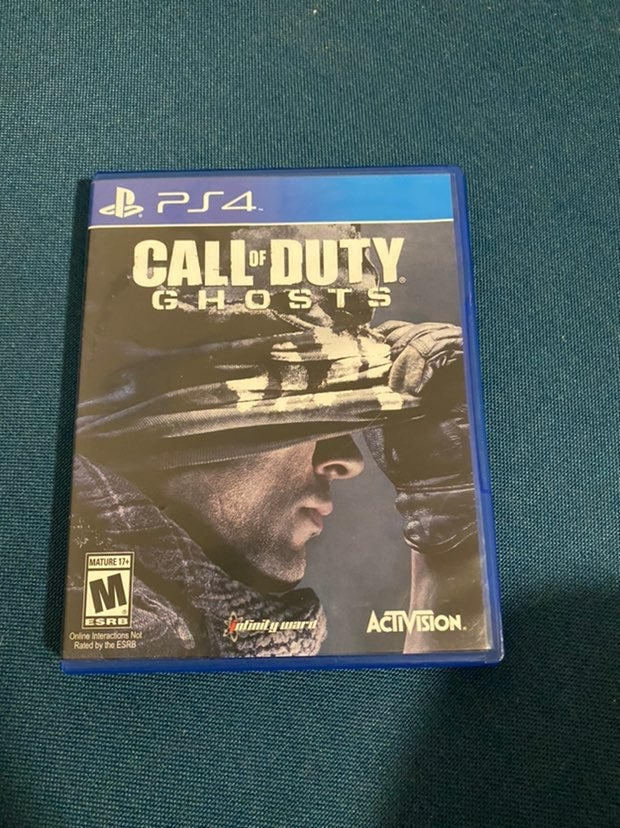 PS4 Game Call of Duty Ghosts