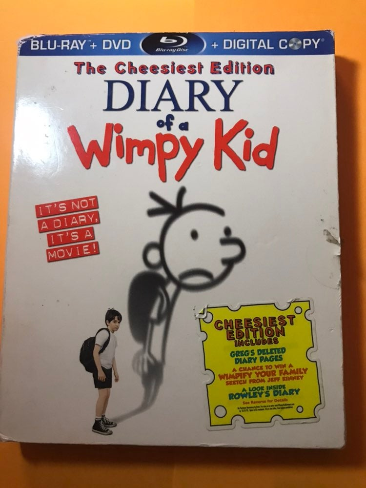 DIARY OF A WIMPY KID BLU RAY DVD