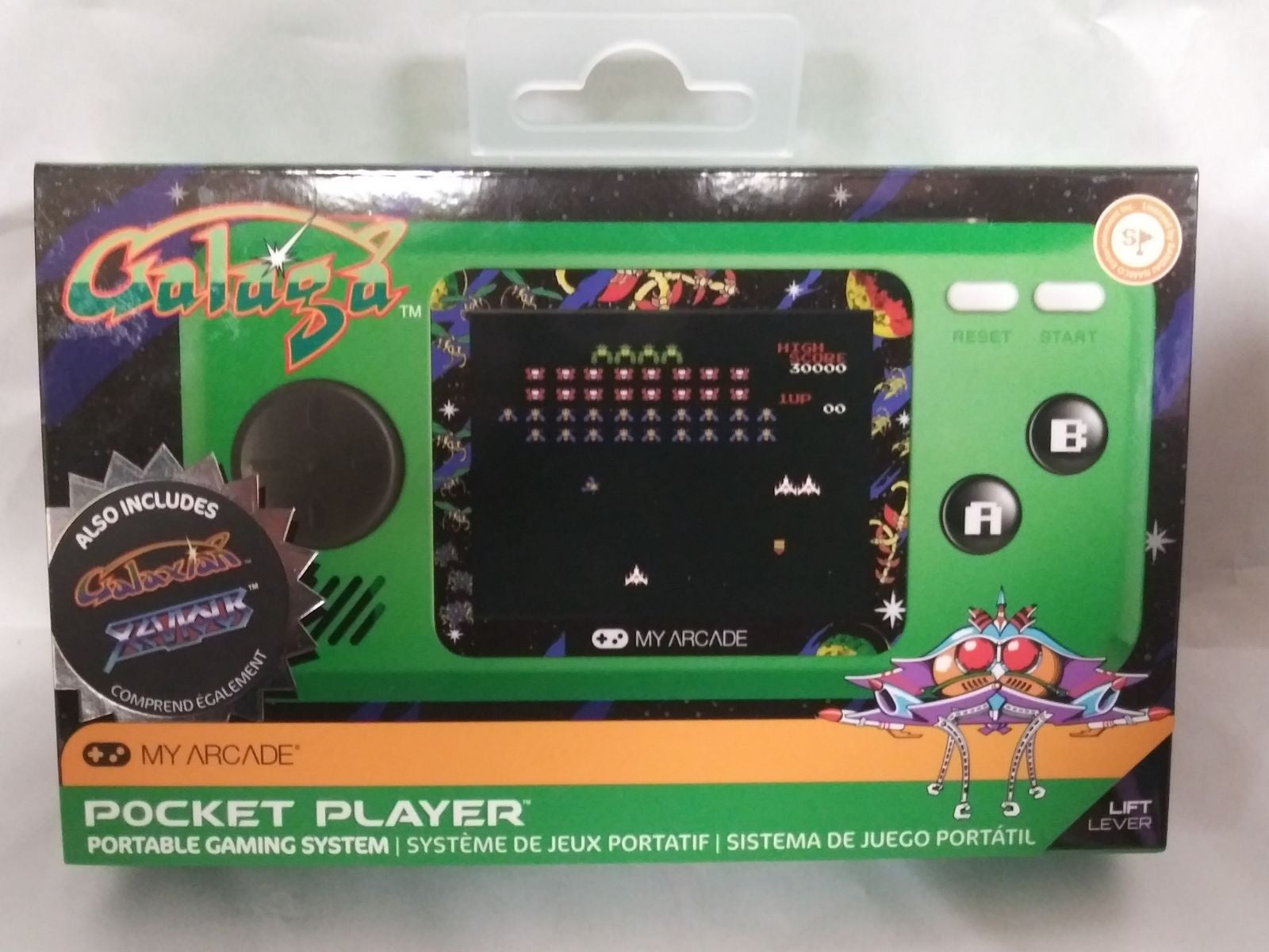 Pocket Player Portable Gaming System