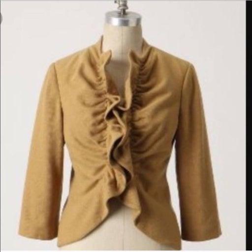 Anthro Tabitha Short & Sweet Wool Jacket