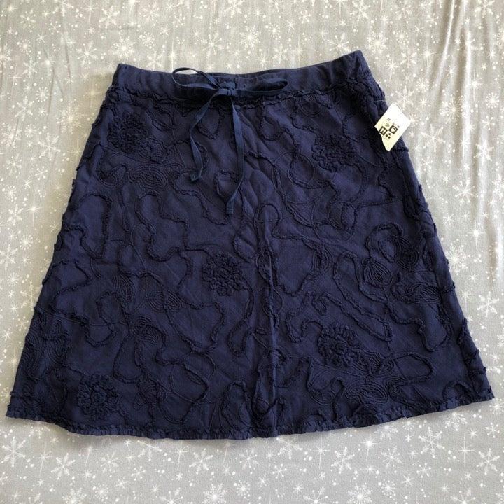 Max Studio Skirt Navy Blue Women S NWT