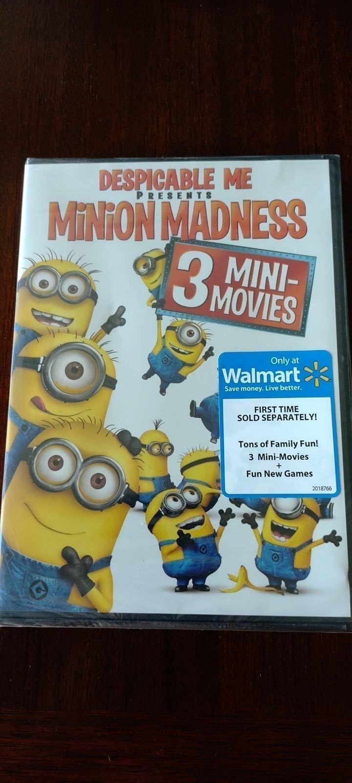 Minion Madness: 3 Mini-Movies DVD