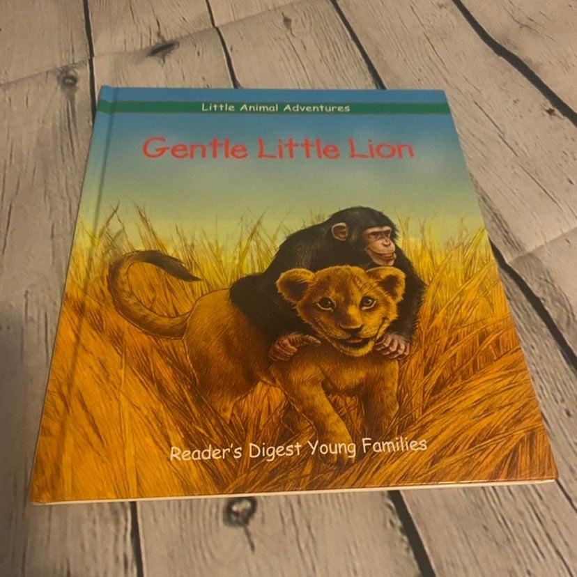 Gentle Little Lion Book