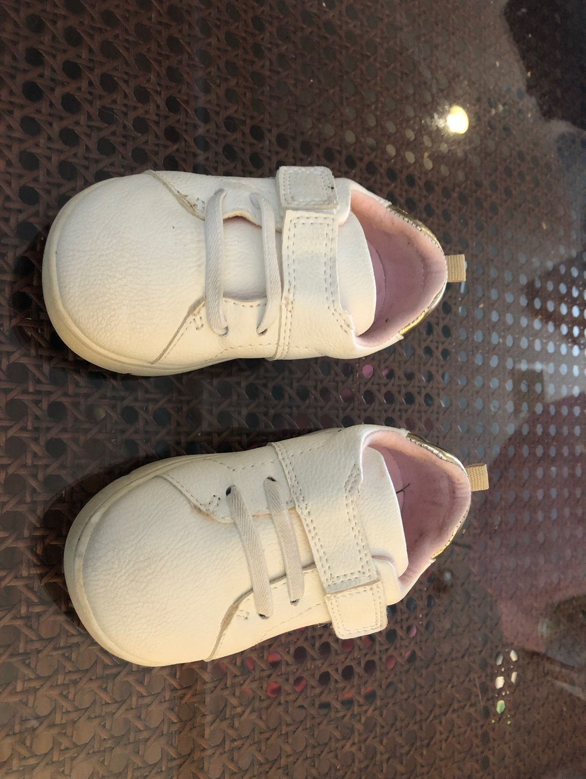 Girls baby shoes size 5