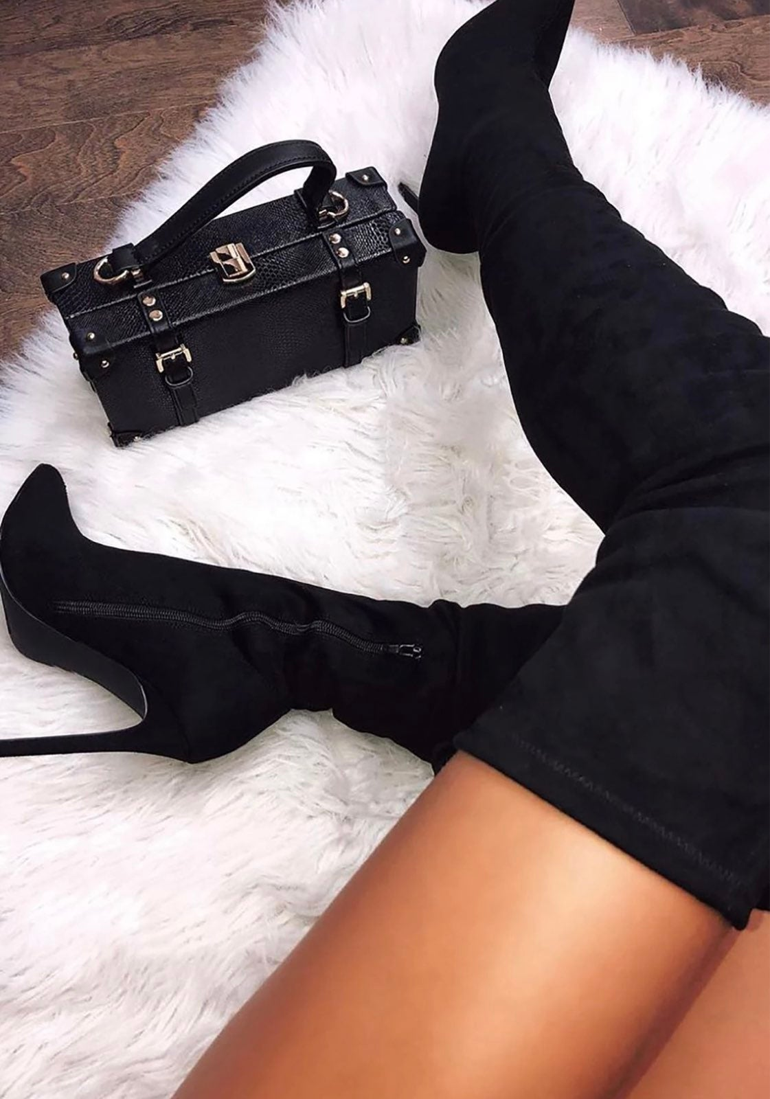 Fashion Nova Vicky Over The Knee Boot -