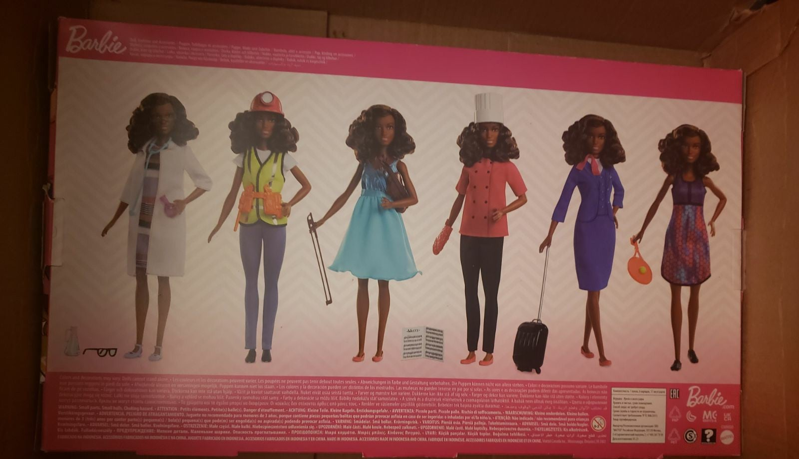 Barbie career outfit set