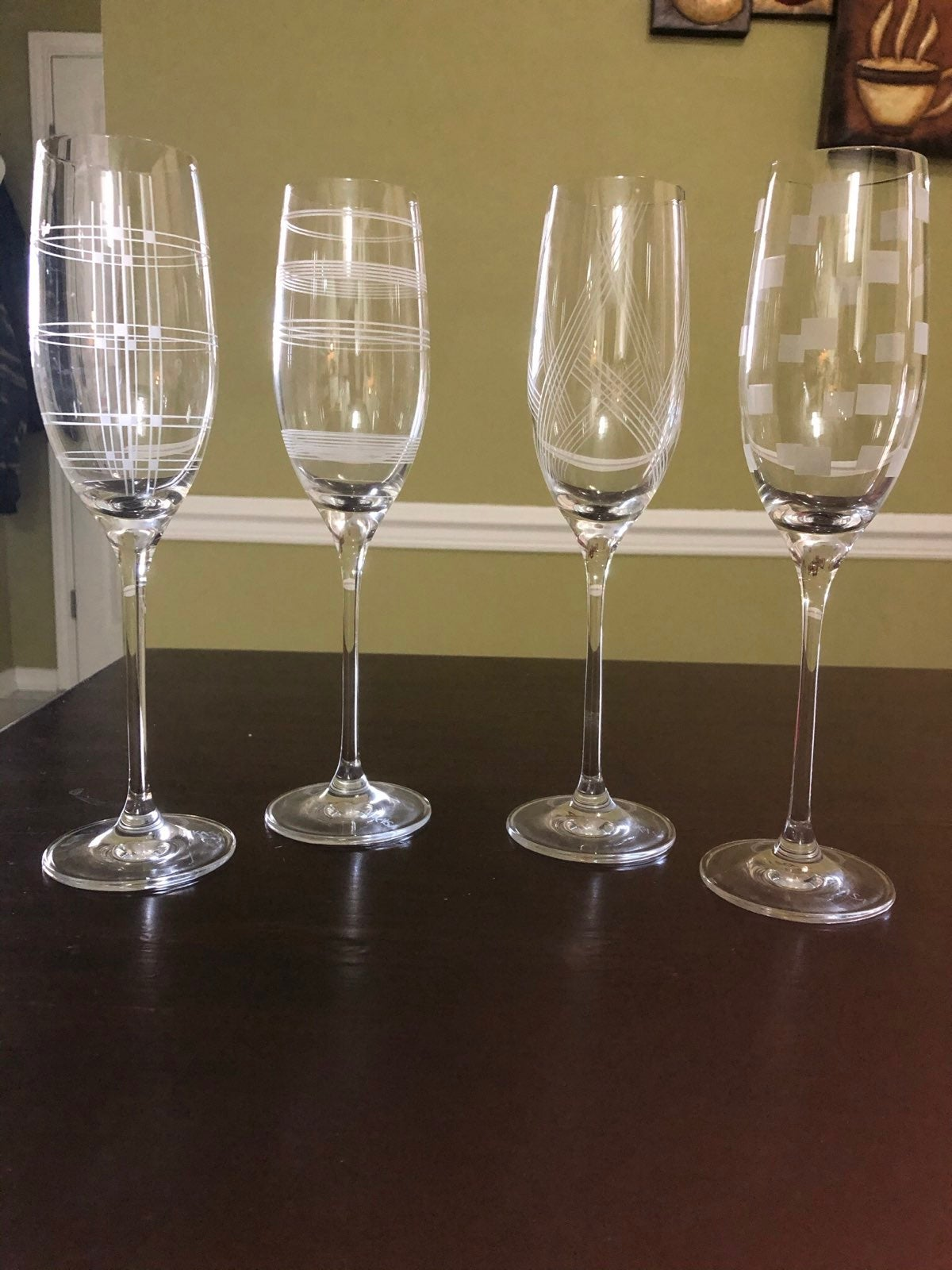 Mikasa champagne glasses