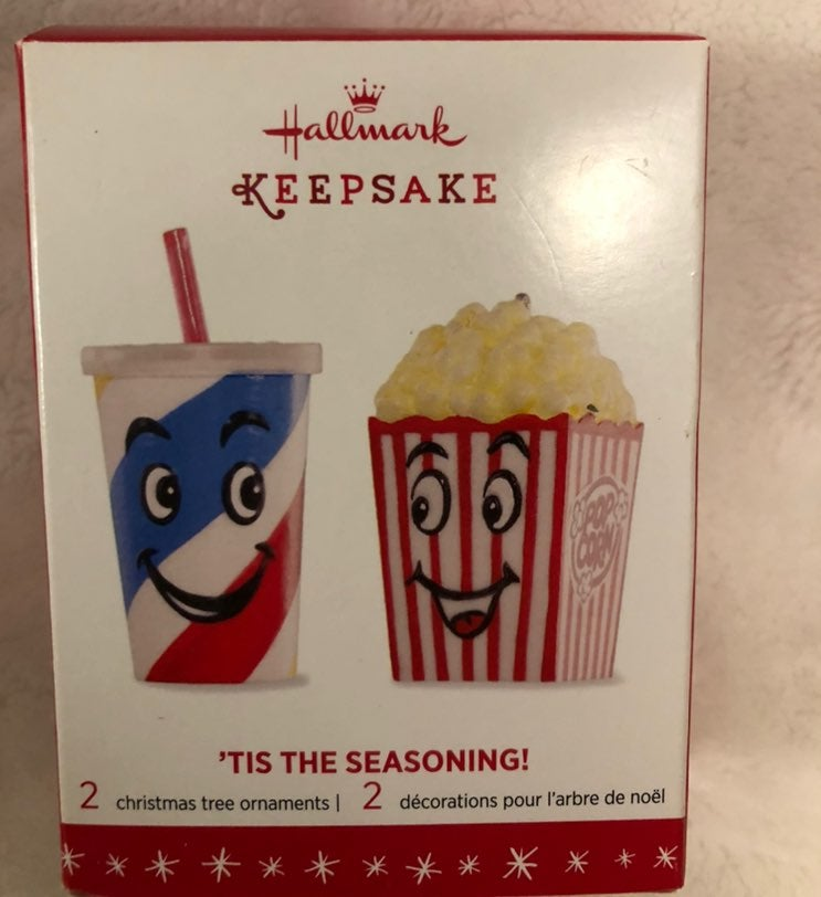 Keepsake Ornament Popcorn and Slushy