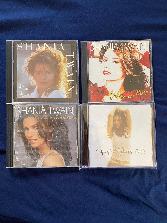 Shania Twain CD lot